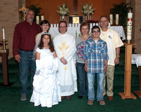 2013 Blessed Sacrament First Communion