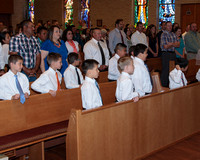 2014 Blessed Sacrament First Communion